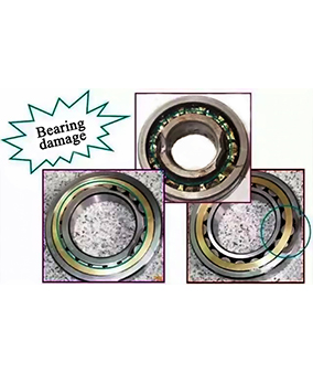 3 Incorrect installation ways of bearings